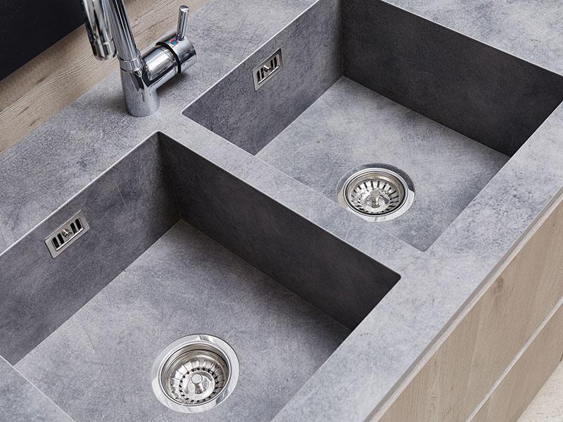 Vasca top cucina e bagno in fenix unicolor gr2 arredamenti - Top cucina fenix prezzo ...