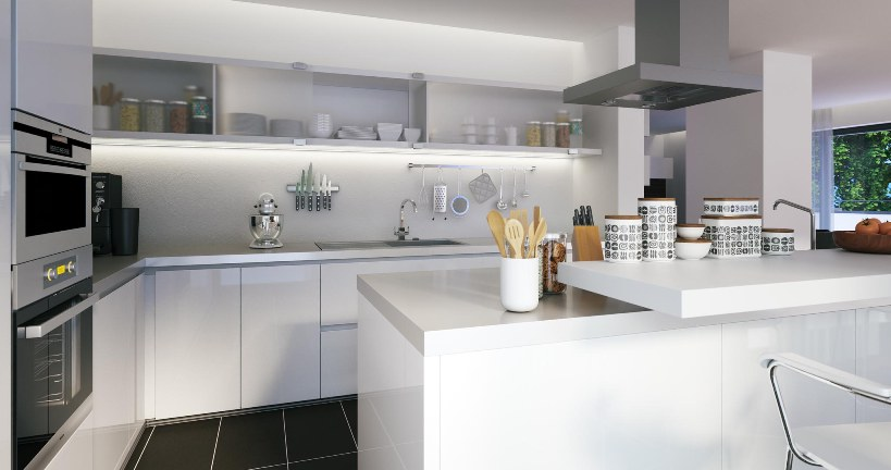 Desiderate una cucina performante? Il quarzo è la risposta che fa per voi