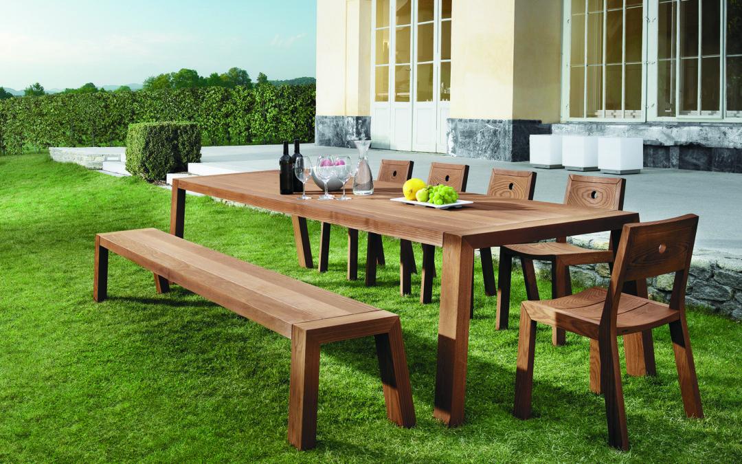 Come scegliere un tavolo outdoor per il tuo giardino