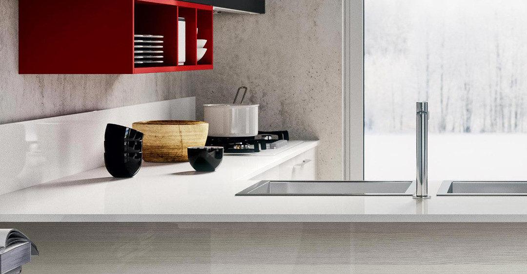 Top cucina in Corian: caratteristiche e manutenzione